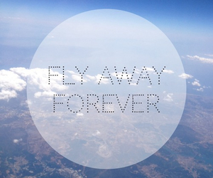 away, forever, and fly image