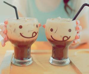 drink, chocolate, and milkshake image