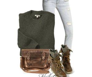 bag, boots, and cool image