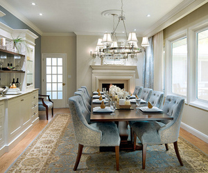 dining room, home, and house image