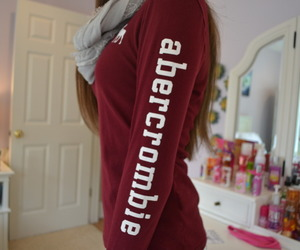 girl, tumblr, and abercrombie image