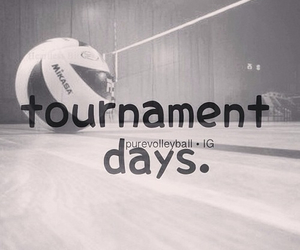 tournament and volleyball image