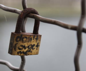 love and lock image
