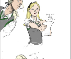draw, funny, and narcissa malfoy image