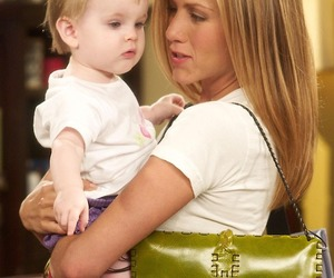 friends, baby, and rachel green image