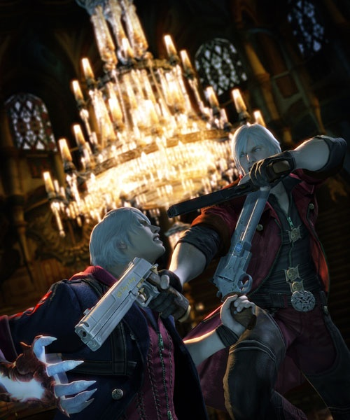 Devil May Cry 4 Concept Art On We Heart It