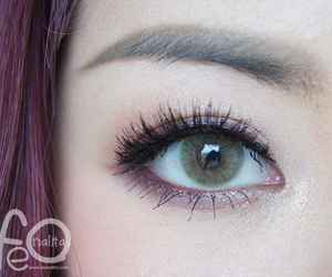 eyes, contactlens, and solotica image