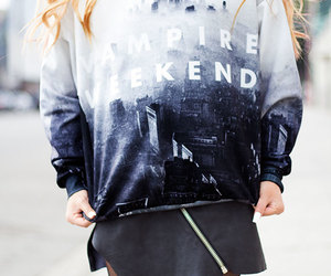 vampire weekend, fashion, and music image