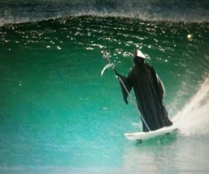 death, surf, and surfing image