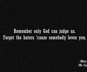 quote, miley cyrus, and god image