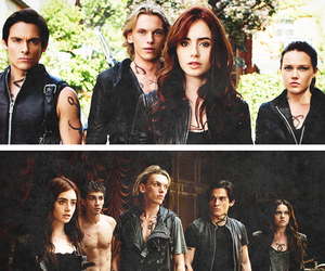 jace, mortal instruments, and clary image