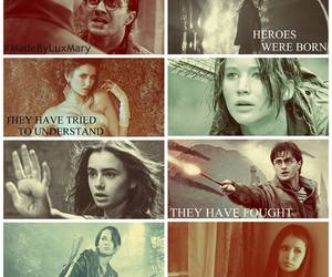 book, harry potter, and heros image