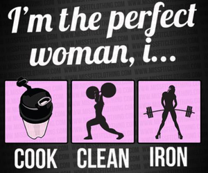 woman, fitness, and cook image