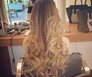 beautiful, blond, and curles image