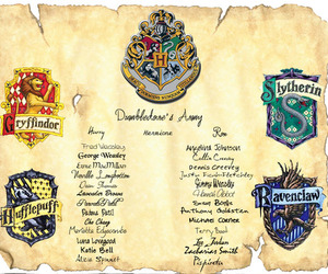 dumbledore's army, gryffindor, and harry potter image