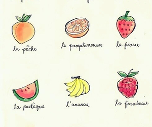 fruit, french, and food image