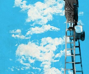 blue, draw, and ladder image
