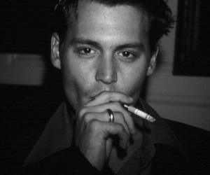 actor, man, and johnny depp image