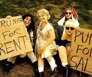grunge, punk, and l7 image