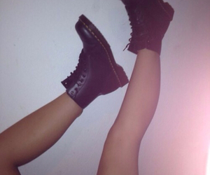 grunge, legs, and shoes image