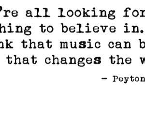 believe, change the world, and music image