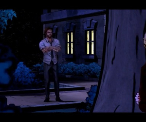 game, telltale, and the wolf among us image