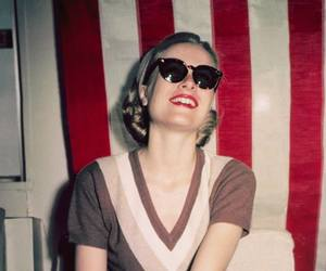 grace kelly, vintage, and smile image