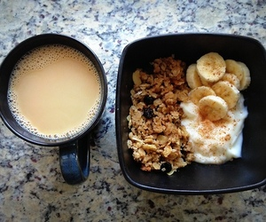 breakfast, healthy, and banana image