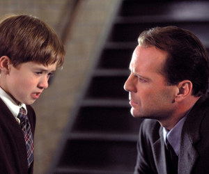 bruce willis, The Sixth Sense, and haley joel osment image