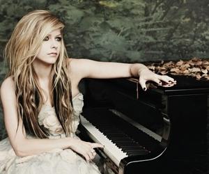 Avril Lavigne, Avril, and piano image