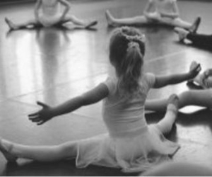 ballet, love, and heart image