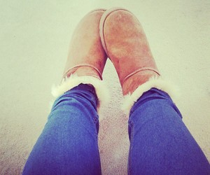 boots, girl, and jeans image