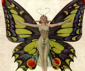1920s, 1920's, and butterfly image