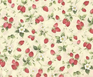 strawberry, background, and vintage image