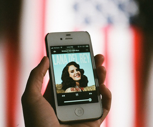 lana del rey and iphone image