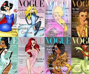 disney princess, fashion, and vogue image