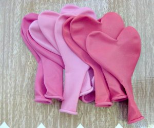 hearts, cute, and pink image
