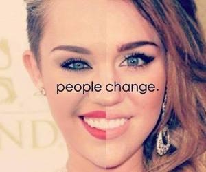 miley cyrus, change, and people image