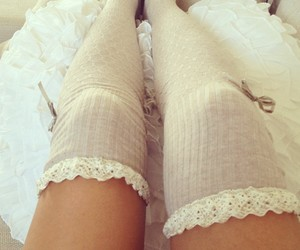 socks, girly, and legs image