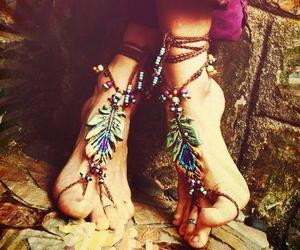 hippie, bohemian, and boho image