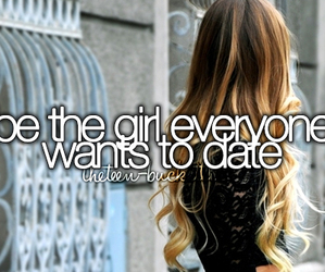 girl and date image