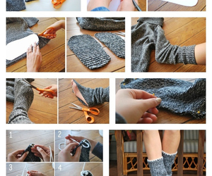 boots, diy, and slipper image