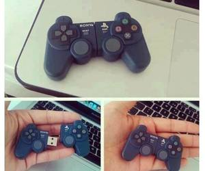 game, joystick, and playstation image