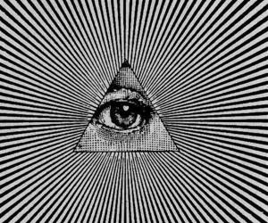 eye and triangle image
