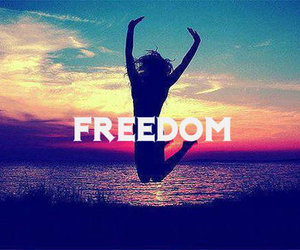 freedom, free, and light image