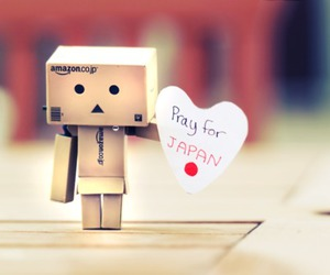 japan, pray, and danbo image