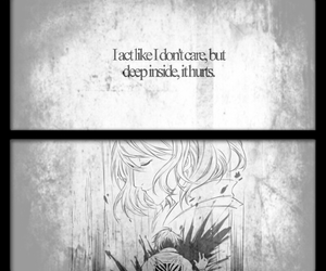 quote, sad, and snk image