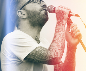 city and colour, dallas green, and Tattoos image