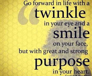 quote, smile, and twinkle image