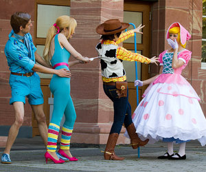 toy story, barbie, and disney image